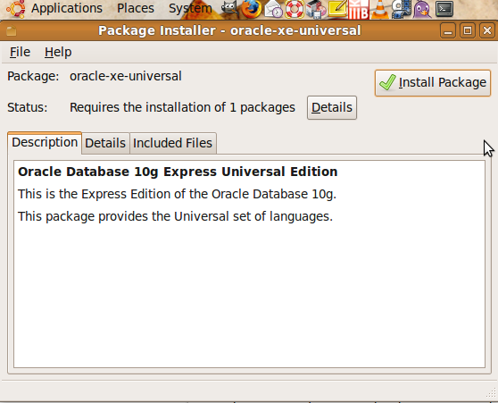 install oracle 1