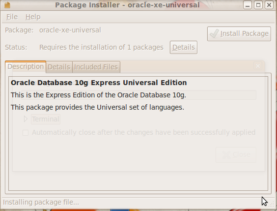 install oracle 2