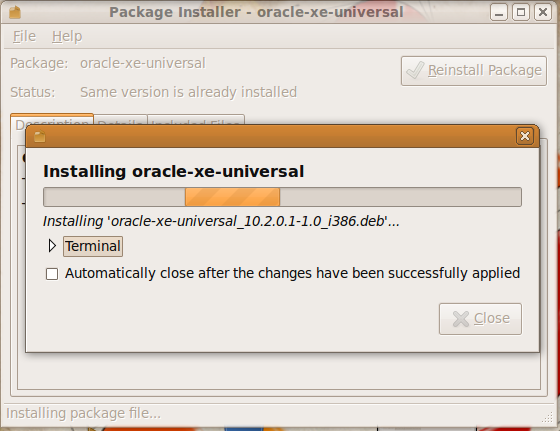 install oracle 3