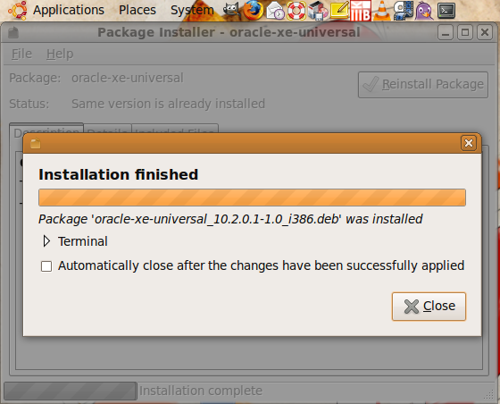 install oracle 4